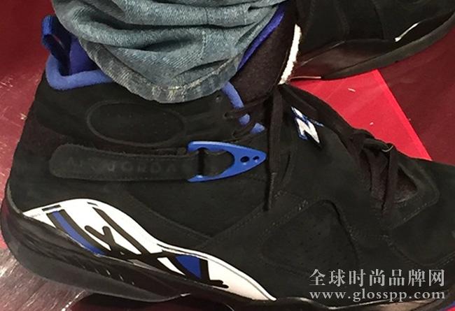 资讯Drake 上脚黑色版本 Air Jordan 8 肯塔基野猫 PE